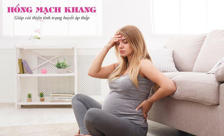 Phụ nữ mang bầu dễ bị huyết áp thấp thai kỳ